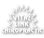 Vital Link Chiropractic logo designed by Dr. Matt Kriewall a Fort Collins Chiropractor
